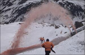 Mountain Pursuit (On Her Majesty's Secret Service)