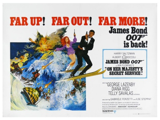 On Her Majesty's Secret Service 1