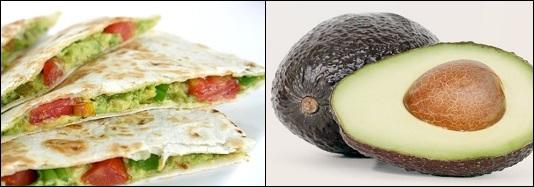 #eetmindervlees - Avocadosalade met Quesadillas