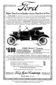10 economische ideeën - T-Ford