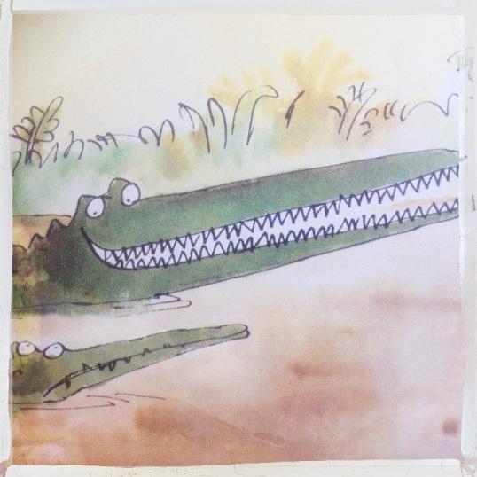 Krokodil Hebzucht